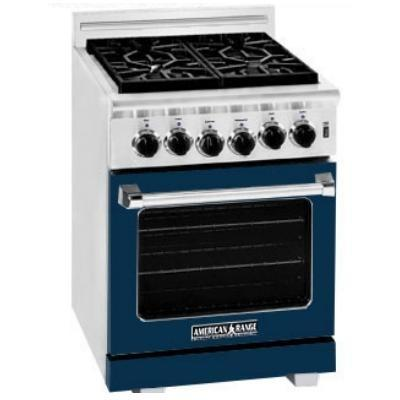 American Range Dark Blue Range Color Kit 24 Inch With Glass - COLOR KIT ONLY