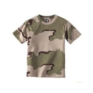 Code V Youth Camouflage T-Shirt Medium - Desert Camouflage