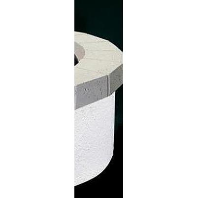 Peterson Outdoor Campfyre Plain Concrete Top Ring For 34 Inch Fire Pit