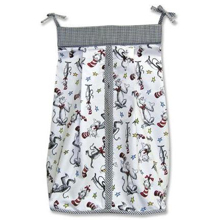 Trend Lab Diaper Stacker - Dr Seuss Cat In The Hat