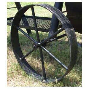 Horizon Smokers Replacement Steel Wagon Wheels For 20 Inch RD Special Marshal Smoker Grills - 20 Inch Diameter