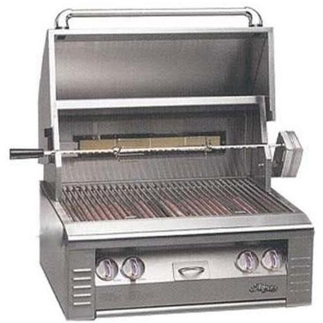 Alfresco AGBQ Classic 30 Inch Natural Gas Grill Built In With Rotisserie