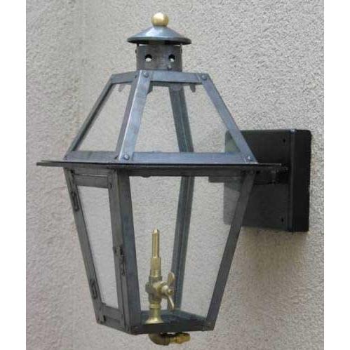 Regency GL15 Chateau Natural Gas Light With Open Flame Burner And Manual Ignition For Post Mount