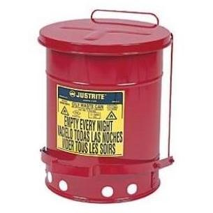 Just Rite 6 Gallon Oily Waste Can