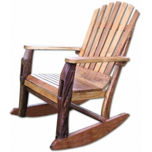 Groovy Stuff Furniture Groovy Stuff Adirondack Teak Wood Rocking Chair - Tf-483 at Sears.com