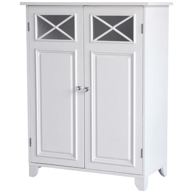 Elegant Home Fashions Dawson Floor Cabinet With Two Doors 6841