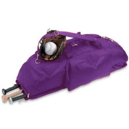 Cobra Caps Large Baseball/softball Bat Bag - Purple