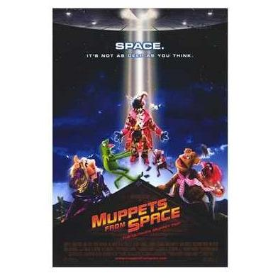 Muppets From Space Poster Print