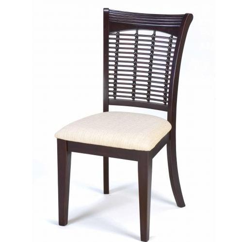 Picture of Hillsdale Bayberry Wicker Chair - Set Of 2 - Dark Cherry - 4783-802