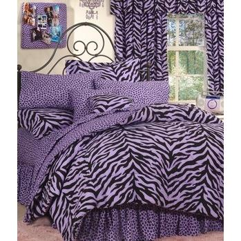 Karin Maki Window Curtain - Zebra Lavender