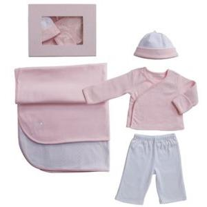 Elegant Baby Take Me Home Gift Set Newborn - Pink