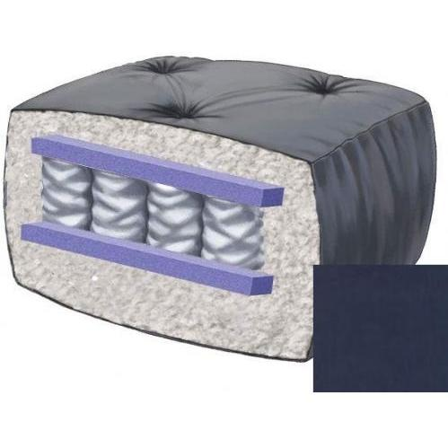 10 Inch Blazing Needles Perfect Pocket Coil Futon Mattress - Indigo - DS-9662 - Indigo