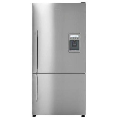 Fisher Paykel E522BRXFDU 17.6 Cu. Ft. ActiveSmart Right Hinge Refrigerator With Ice And Water Dispenser - Stainless Steel