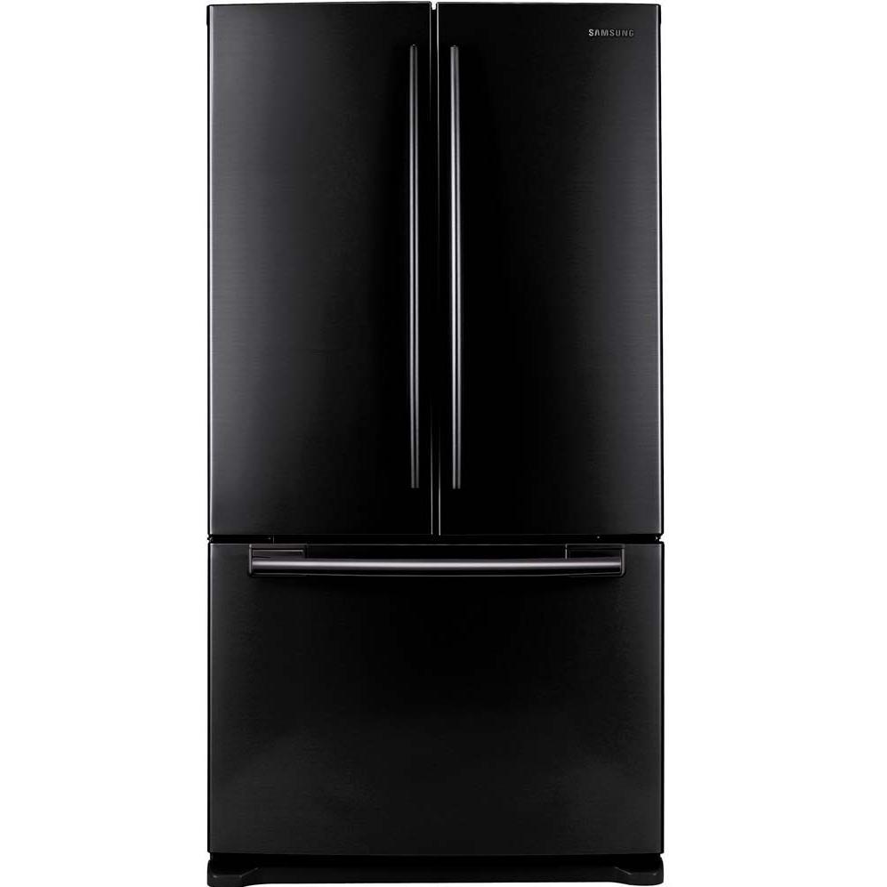 French door refrigerators black samsung 26 cu ft french door refrigerator black rf263aebp rubansaba