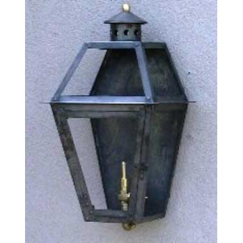 Regency GL14F Coach Light Natural Gas Light With Open Flame Burner And Electronic Ignition On Wall Mount