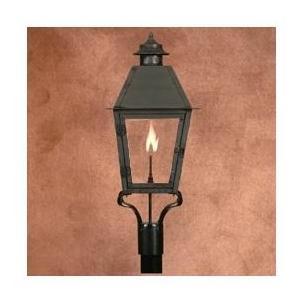 Legendary Lighting Atlas 1 Copper Natural Gas Light With Post Bracket