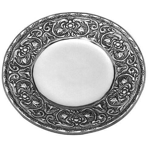 Wilton Armetale William & Mary Medium Round Tray