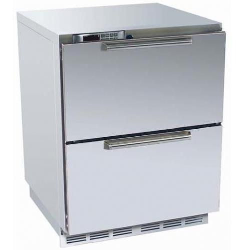 Perlick HP24FO-5 5.3 Cu. Ft. Capacity Outdoor Freezer - Stainless Steel
