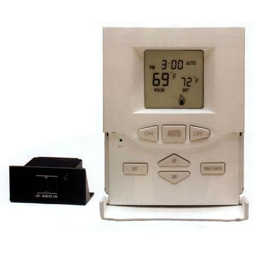 Ambient Technologies Millivolt On/Off Programmable Wireless Wall Thermostat