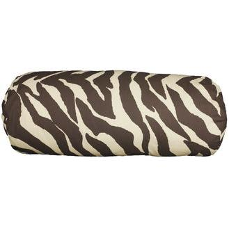 Karin Maki Zebra Bolster Pillow - Black
