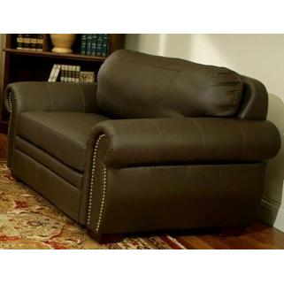 Picture of Abbyson Living Signature Premium Italian Leather Oversized Chair