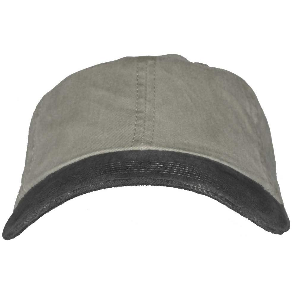 Port Authority 2-Tone Garment-Washed Cap - Pebble / Black, Discount ID PWTTU-82283