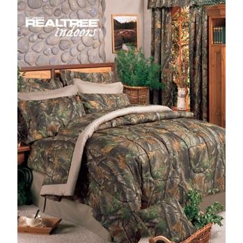 Realtree Hardwoods Twin Sheet Set