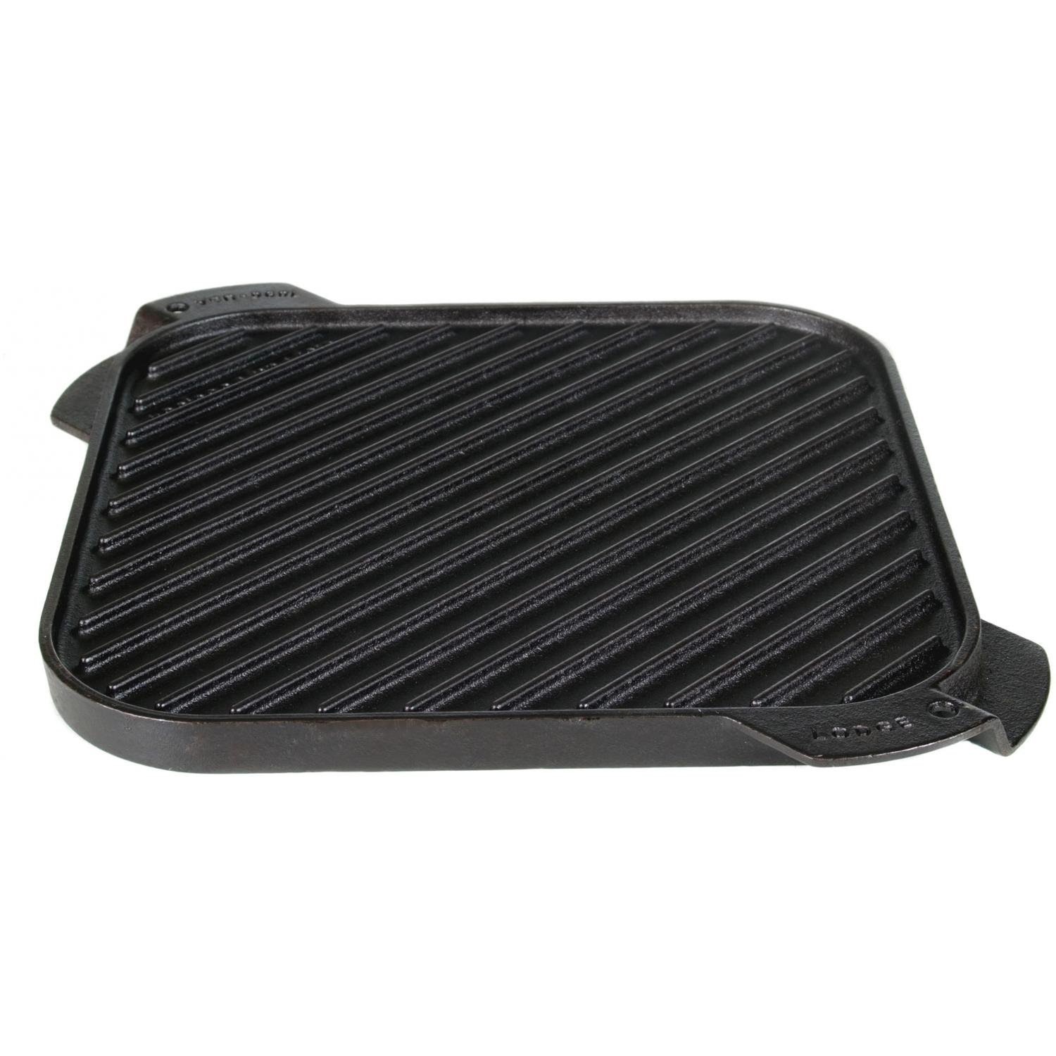 Lodge 10.5-Inch Logic Single Burner Reversible Cast Iron Griddle - LSRG3 1666234