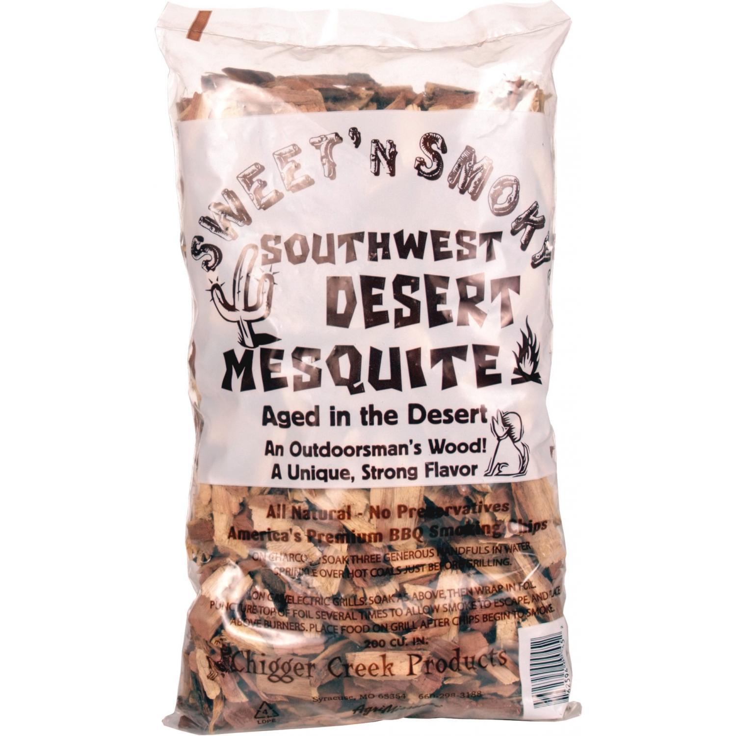Chigger Creek Southwestern Mesquite Wood Chips