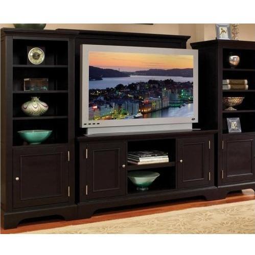 Home Styles Bedford 4 Piece Entertainment Unit - Ebony - 5531-44