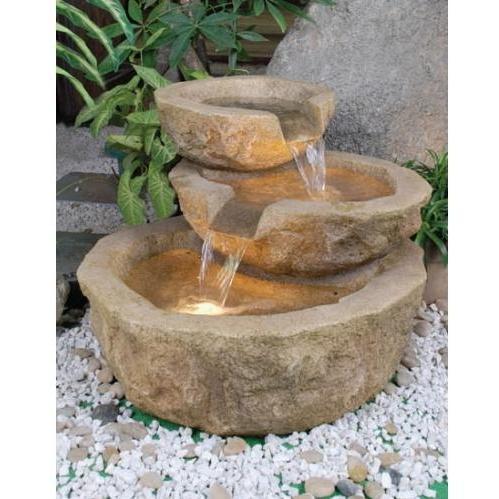 Alfresco Home ValGardena Fountain (With Pump And Light)