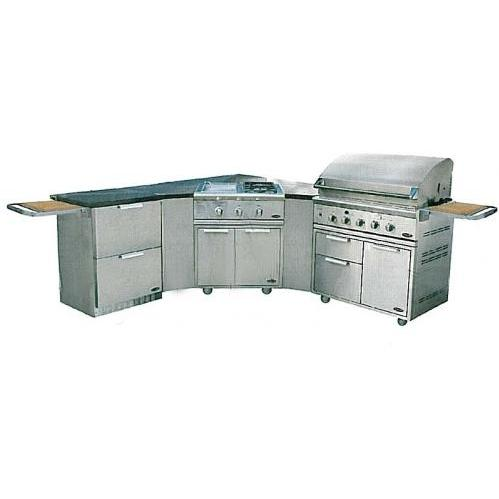 DCS Liberty 36 Inch Natural Gas Grill Island Package