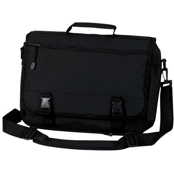 Port & Company Basic Expandable Briefcase - Black