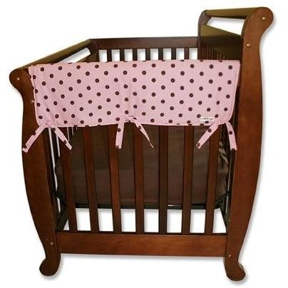 Trend Lab Wide 2-Piece Crib Rail Guard 27 Inch - Maya Dot