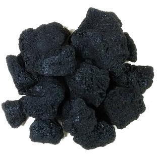 BBQ Guys Lava Rock - Black - 7 Lbs