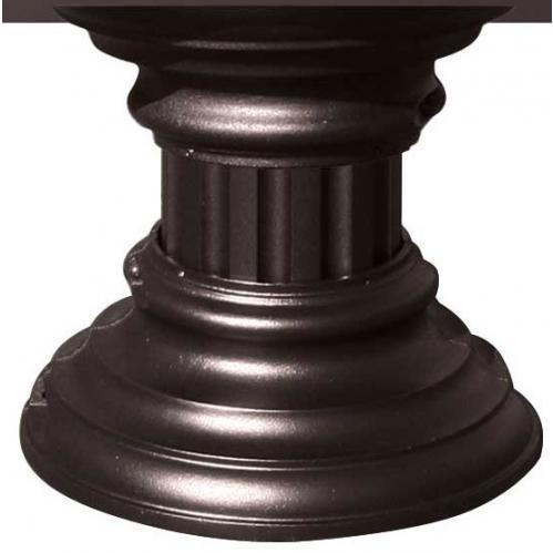 Regency SHORT Decorative Pedestal Wrap - Bronze