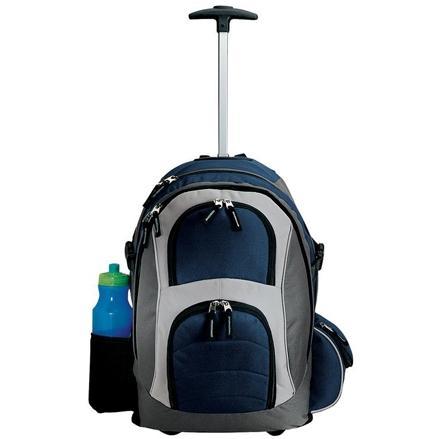 Port Authority Wheeled Backpack - Navy/grey