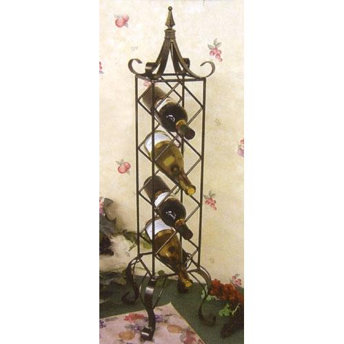 Picture of Bronze Verticle Wine Rack