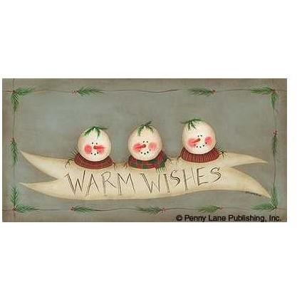 Fiddlestix - Warm Wishes Size 8x16 Poster Print