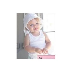 Bella Baby Infant 2x1 Rib Tank Top 3-6 Month - Pink