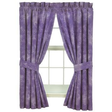 Karin Maki Window Curtain - Caribbean Coolers Purple
