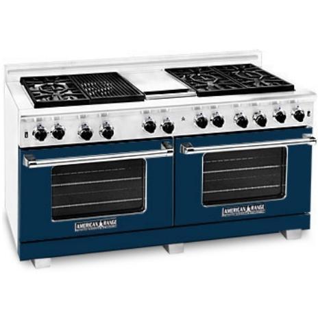 American Range Dark Blue Range Color Kit 60 Inch With Glass - COLOR KIT ONLY