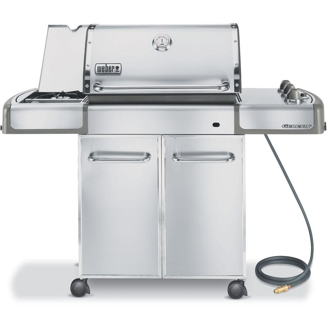 Weber Gas Grills Genesis S-320 Natural Gas Grill W/ Side Burner