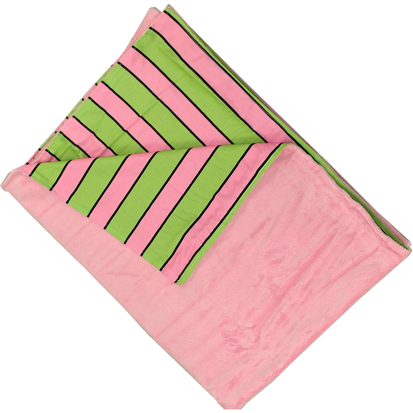 Trend Lab Velour Baby Blanket - Pixie Stix