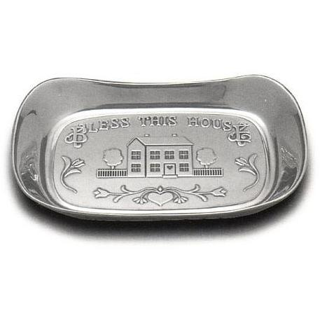 Wilton Armetale Bless This House Large Bread Tray