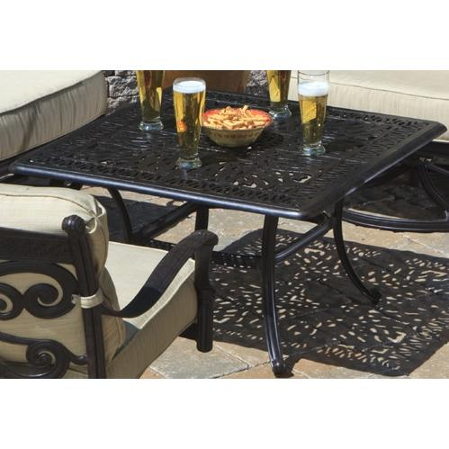 Alfresco Home Kaleidoscope 36 Inch Square Chat Table