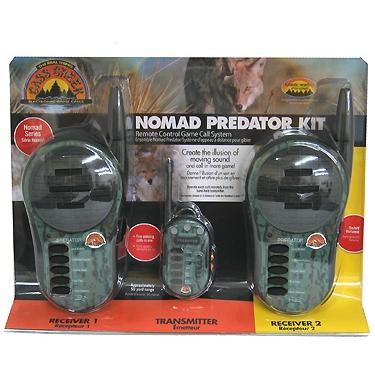 Cass Creek Game Calls Nomad Predator Two Pack