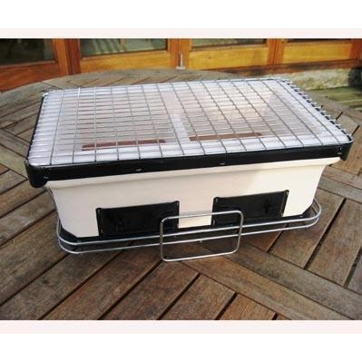 Fire Sense HotSpot Rectangle Yakatori Table Top Charcoal Grill