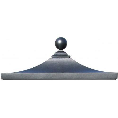 Regency Decorative Top W/ Ball Finial - Black