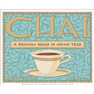 Chai Tea Poster Print